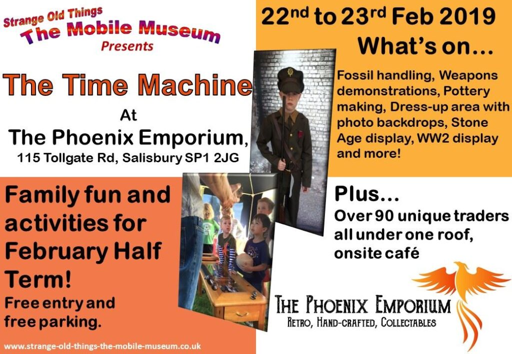 Mobile Museum Time Machine Event Poster