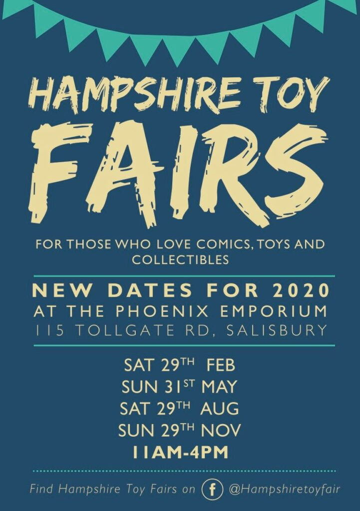 Hampshire Toy Fairs Event Poster